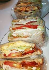 具沢山サンドイッチ