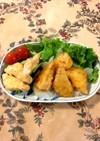 めかじき竜田揚げ☆2種のチリソース味