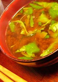 甘エビの味噌汁
