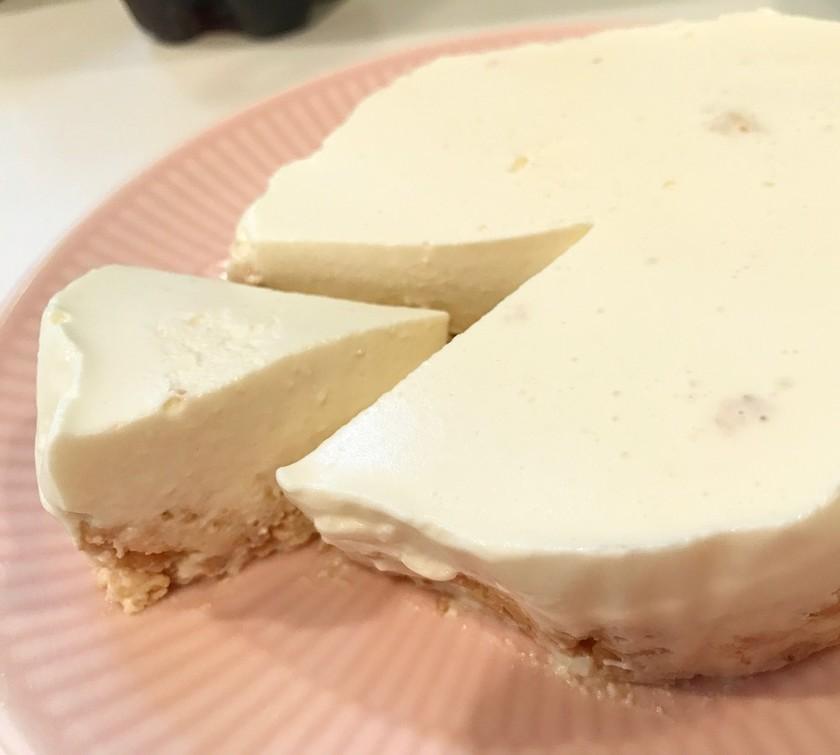豆乳レモンのレアケーキ