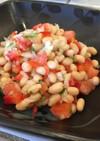 ちっちゃいおかず・白豆のサラダ