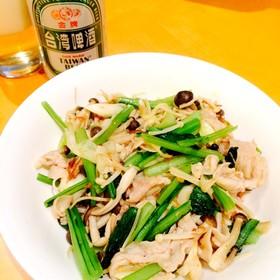 簡単中華★XO醤で小松菜&豚肉炒め