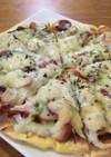 栄養満点!糖質制限ピザ