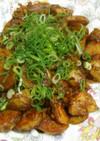 ☆男の料理風☆じゃがチキンの八丁味噌炒め