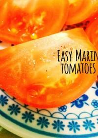 簡単☆あと一品!トマトのマリネ
