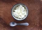 簡単、フレッシュ、手作りカッテージチーズ