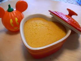 ハロウィンに☆メープルかぼちゃプリン