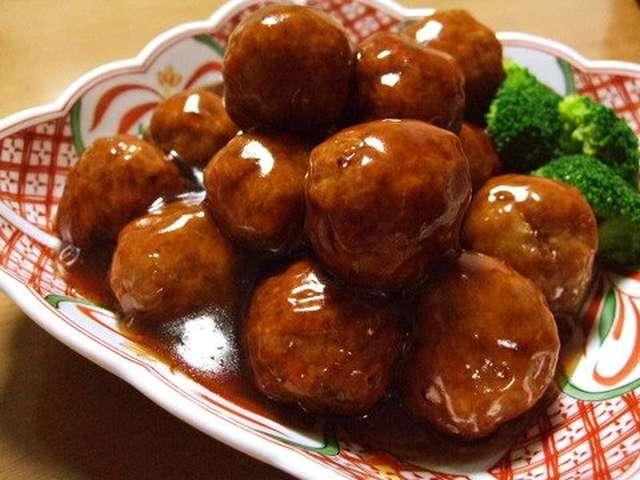肉 団子 甘酢 レシピ