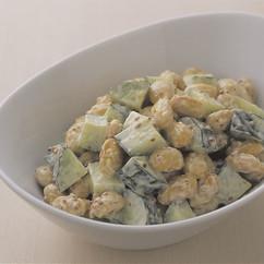 豆ときゅうりのマヨサラダ