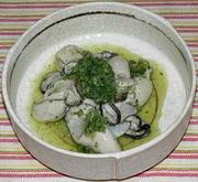 牡蠣の大葉おろし和えの写真