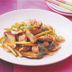 豚肉と野菜の中華風炒め