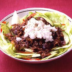 おろし焼き肉サラダ