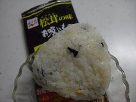 「松茸の味お吸いもの」で、高級おにぎり!