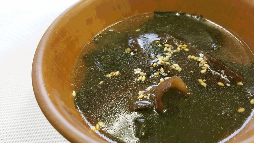 きくらげとわかめのスープ