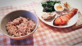 ダイエット玄米朝食