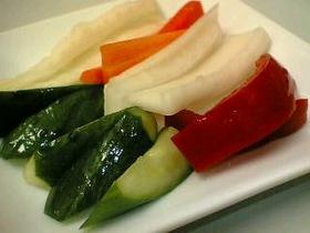 なんでも野菜の簡単漬け物