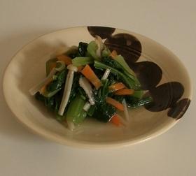 簡単に料亭の味!小松菜の煮浸し