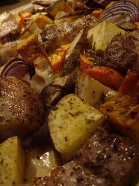秋の吹き寄せオーブン焼き