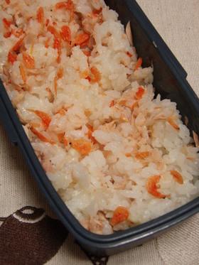 桜海老とツナのマヨご飯❤
