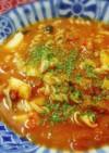シーフードMIXとトマト缶で食べるスープ
