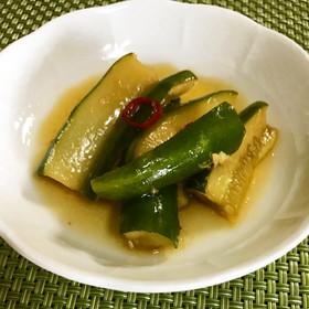 辣黄瓜(きゅうりのラー油漬け)