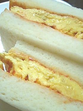 ふわっふわでおいしい♪簡単玉子サンド