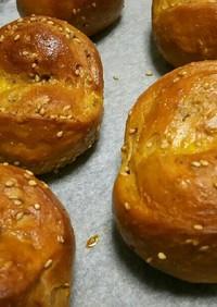 糖質制限☆ふすまパンミックスでごまパン