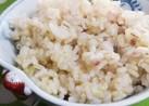 *発芽玄米と十八穀ご飯*