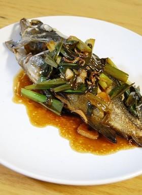 イサキの中華風煮魚