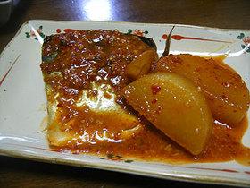 鯖の味噌煮@韓国風