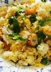 タイ米でナシゴレン風炒飯