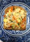 ☆ふすまブランのピザオープントースト♡