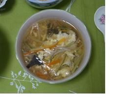 手軽なのに本格派の中華かき玉スープ♪