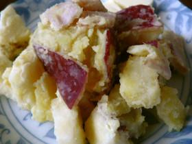 林檎と薩摩芋のサラダ