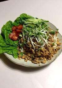 夜遅い時間に食う用の炸醤麺