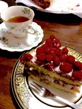 野苺ケーキ