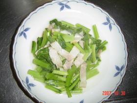 超簡単過ぎ!小松菜の煮浸し風✿