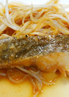 簡単♪和食*タラとモヤシのフライパン蒸し
