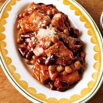 「味つけ冷凍肉」でポークチャップ