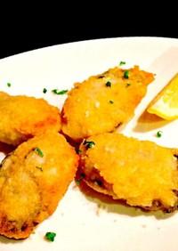 我が家人気✨牡蠣のチーズ風味ピカタ