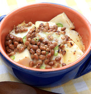 納豆豆腐グラタンの写真