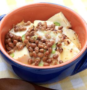 納豆豆腐グラタン