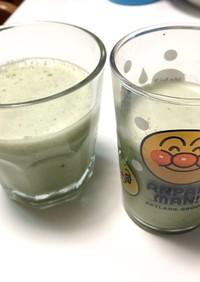 豆乳スムージー【小松菜りんごバナナ】