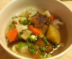 根菜たっぷり!おかずスープ