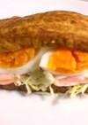 ヘルシー厚揚げサンドイッチで糖質制限