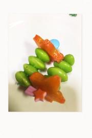 枝豆ピック お弁当に〜の写真
