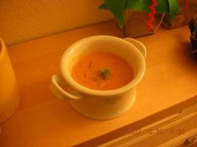簡単美味しい!かぼちゃトマトスープ