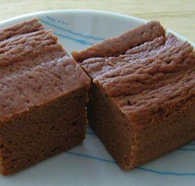 おからパウダーのレンジ蒸しパン+ココア+
