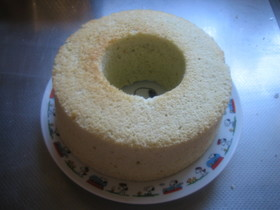 炊飯器でシフォンケーキ