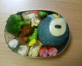 ポッチャマ弁当 (ポケモンキャラ弁)